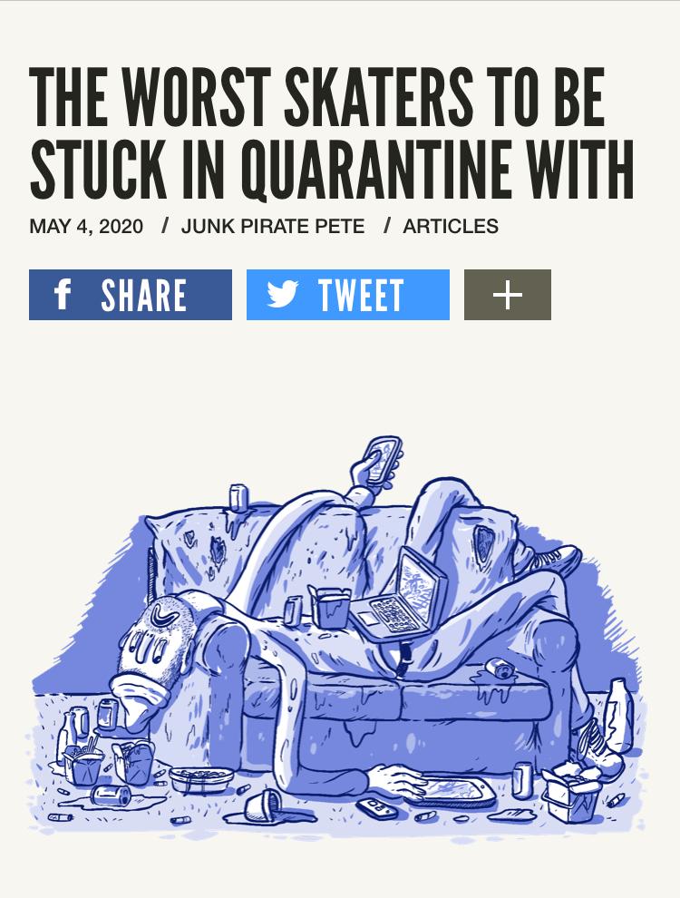 quarantine skateboarding